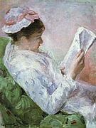 Mary Cassatt Woman Reading 1878