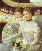 Mary Cassatt Women in a Loge 1881