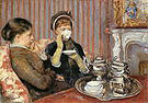 Mary Cassatt Tea 1879