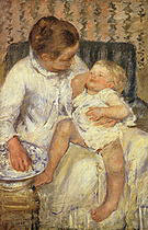 Mary Cassatt The Child s Bath 1880