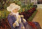 Mary Cassatt The Garden 1880