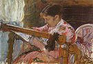 Mary Cassatt Lydia Seated at an Embroidery Frame 1880