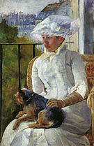 Mary Cassatt Young Girl at a Window 1883