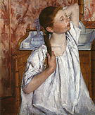 Mary Cassatt Study 1885
