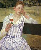 Mary Cassatt Revery 1891