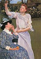 Mary Cassatt Young Women Picking Fruit 1891