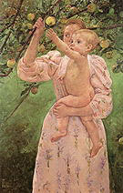 Mary Cassatt Child Picking a Fruit 1893