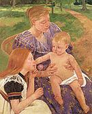 Mary Cassatt The Family 1893