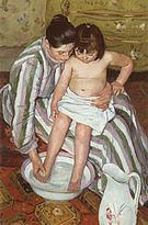 Mary Cassatt The Child s Bath 1893