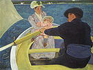 Mary Cassatt The Boating Party 1894