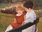 Mary Cassatt In the Park 1894
