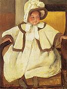 Mary Cassatt Ellen Mary Cassatt in a White Coat 1896