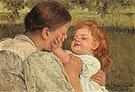 Mary Cassatt Maternal Caress 1896