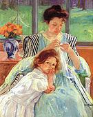 Mary Cassatt Young Mother 1900