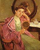 Mary Cassatt Woman at Her Toilette 1909