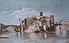 Gustave Courbet Island of San Bartolomeo Rome