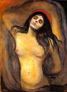 Edvard Munch Madonna 1894