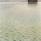 Gustav Klimt Island in Lake Atter 1901