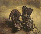 Vincent van Gogh A Pair of Shoes 1885