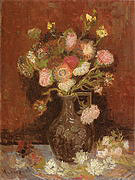 Vincent van Gogh Vase with Autumn Asters 1886