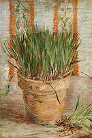 Vincent van Gogh Flowerpot with Chives 1887