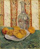 Vincent van Gogh Still Life with Carafe and Lemons 1887