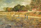 Vincent van Gogh Banks of the Seine 1887