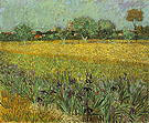 Vincent van Gogh Field with Flowers near Arles 1888
