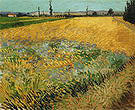 Vincent van Gogh Wheatfield 1888