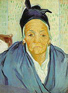 Vincent van Gogh An Old Woman from Arles 1888