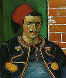 Vincent van Gogh The Zouave 1888