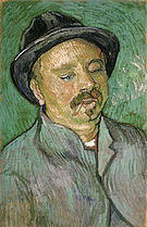 Vincent van Gogh Portrait of a One Eyed Man 1888