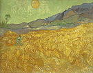 Vincent van Gogh Wheatfield with a Reaper 1889