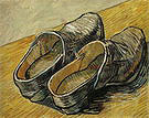 Vincent van Gogh A Pair of Leather Clogs 1889