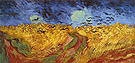Vincent van Gogh Wheatfield with Crows 1890