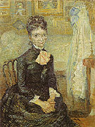 Vincent van Gogh Mother by a Cradle Portrait of Leonie Rose Davy Chabuy 1887