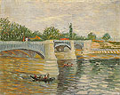 Vincent van Gogh The Seine with the Pont de la Grande Jatte Summer 1887