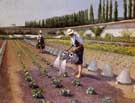 Gustave Caillebotte The Gardeners c1876
