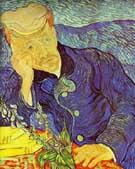 Vincent van Gogh Portrait of Dr Gachet Seated at a Table 1890