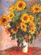 Claude Monet Sunflowers 1881