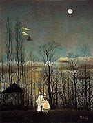 Henri Rousseau A Carnival Evening 1886