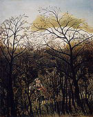 Henri Rousseau Rendezvous in the Forest 1889