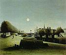 Henri Rousseau View of the Ile Saint Louis seen from Port Saint Nicolas 1888