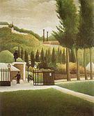 Henri Rousseau Toll Station 1890