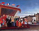 Henri Rousseau The Representives of Foreign Powers Coming to Salute the Replublic as a Token of Peace 1907