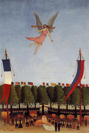 Henri Rousseau Liberty Inviting the Artists to Take Part in the 22nd Exhibition of the Artistes Independants 1906