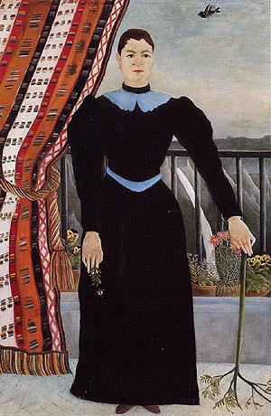 Henri Rousseau Portrait of a Woman 1895