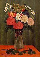 Henri Rousseau Flowers in a Vase 1909