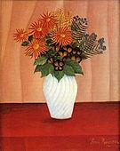 Henri Rousseau Flowers 1895