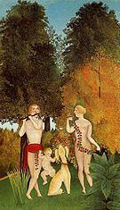 Henri Rousseau Happy Quartet 1902